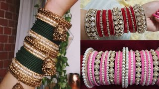 Bangles set design ideas/Bangles Pattern ideas/wedding glass Bangles ideas