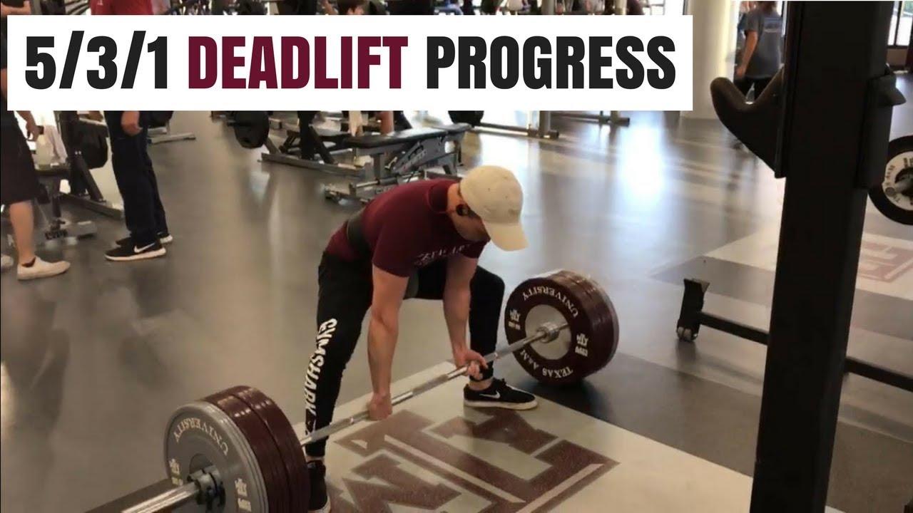 Deadlift, my results