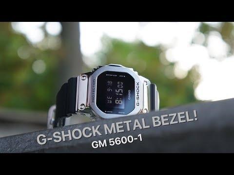 G-Shock Metal Bezel GM5600