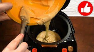Получится у каждого Высокий воздушный бисквит для торта в мультиварке простой рецепт