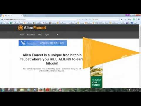Bitcoin Aliens - Highest Paying Top Bitcoin Faucet - YouTube