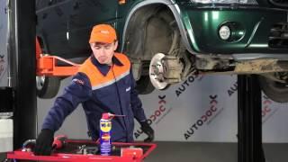 Τοποθέτησης Ράβδος ζεύξης πίσω αριστερά HONDA CR-V I (RD): δωρεάν βίντεο