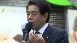 3月2日夕方から東京・新橋で行われた、下村博文シャドウ・キャビネッ...