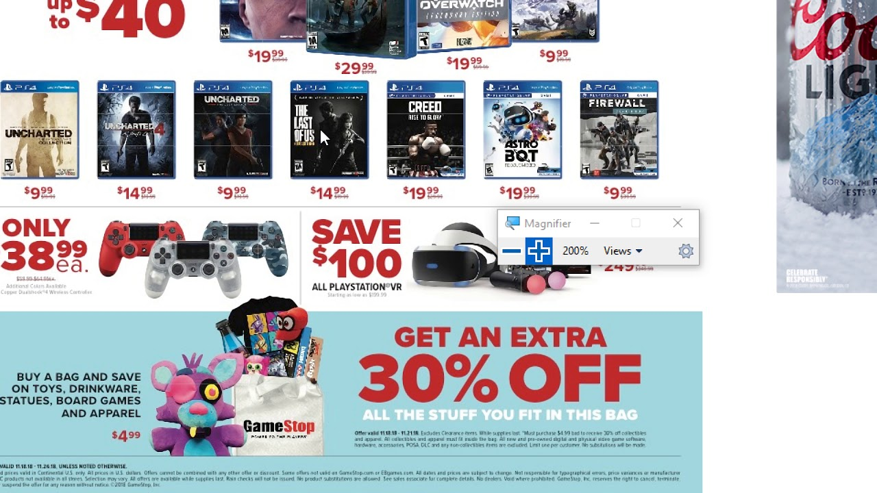 Black Friday 2018 Gamestop Early Sales Youtube