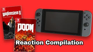 Nintendo Direct September 2017 - DOOM and Wolfenstein II - Reaction Compilation