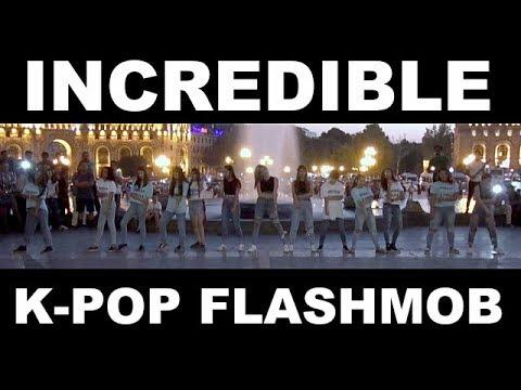 The 4th K-Pop Flashmob in Armenia by INCREDIBLE (2017)