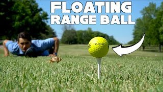 Playing Golf With a Floating Range Ball | 9 Hole Course Vlog