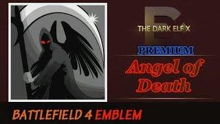 Battlefield 4 Emblem - Angel of Death ( PREMIUM )