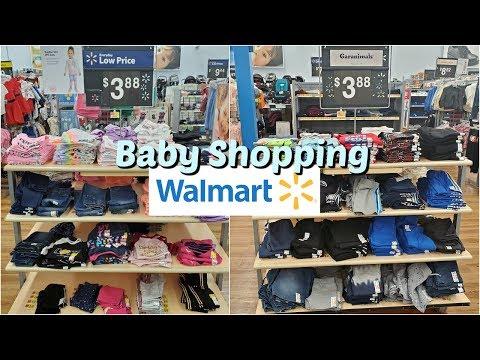 Walmart BABY SHOPPING CHILDRENS CLOTHING  * WALKTHROUGH 2020