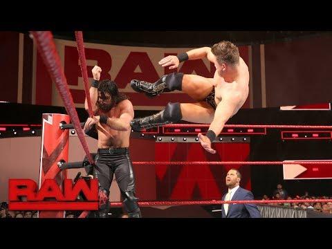 Seth Rollins vs. The Miz: Raw, Feb. 26, 2018