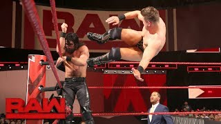 Seth Rollins vs. The Miz: Raw, Feb. 26, 2018