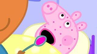 Peppa Pig in Hindi - Not Very Well - Peppa Pig Bimar Hai - हिंदी Kahaniya - Hindi Cartoons for Kids