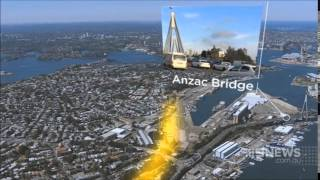 Nine News Sydney: New Road Harbour Crossing Planned For Sydney (25/11/2014)