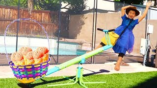 Jannie and Friends Pretend Play Childrens Story Adventure with Fun Toys