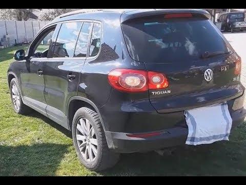 2009 Volkswagen Tiguan TDI startup, engine and in-depth tour