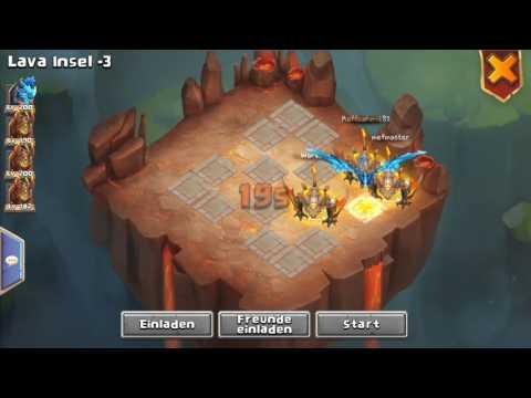 Castle Clash - Das Perfekte Lava 3 Team!!!