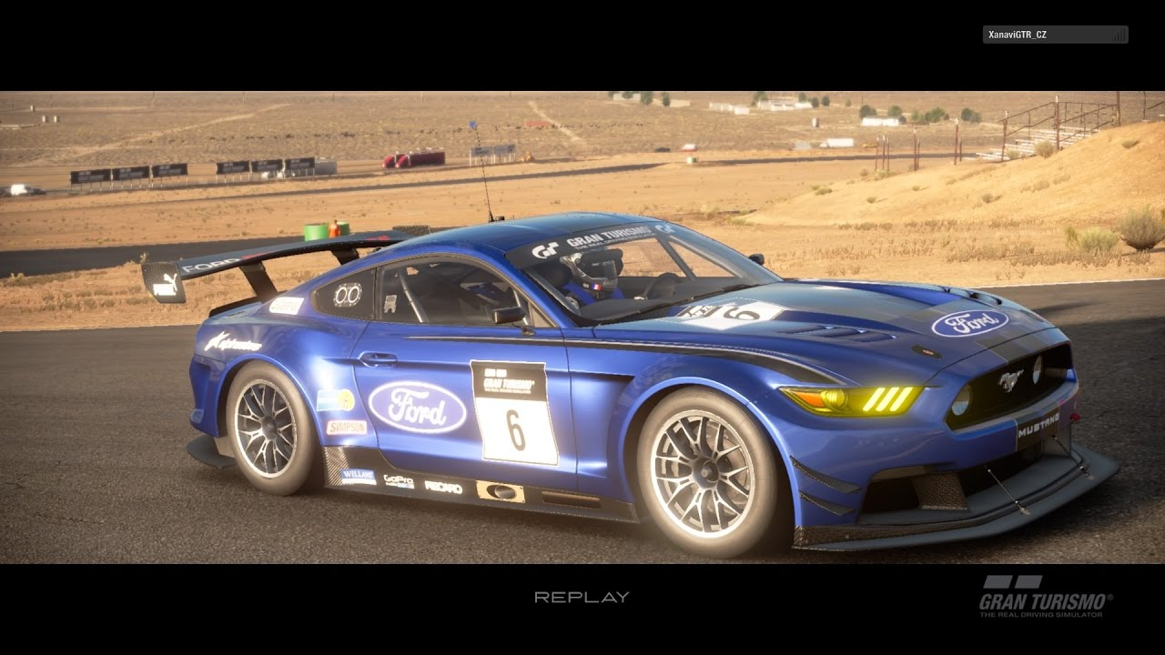 gran turismo sport closed beta test replay ford mustang gr 3 willow springs ir big willow. Black Bedroom Furniture Sets. Home Design Ideas