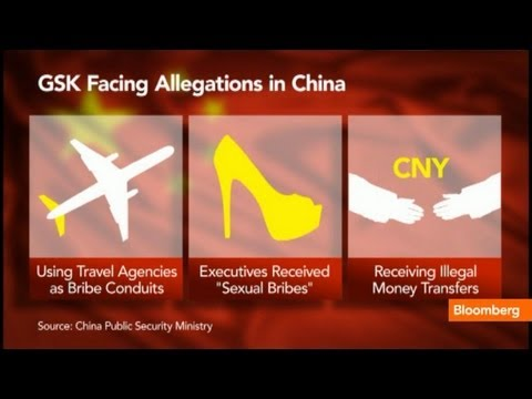 China Widens Probe of Sexual Bribes and Glaxo Execs