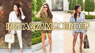 WHAT I WORE - Fashion Roundup 8/15/16