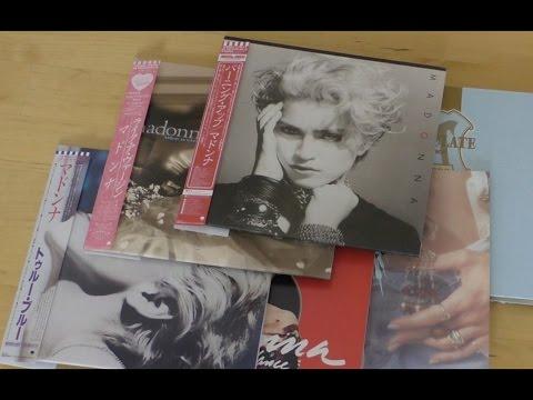 Madonna / Japanese mini-LP CDs unboxing