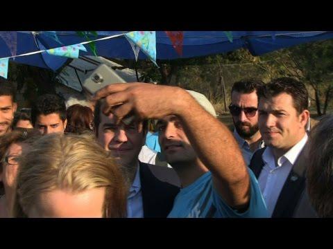 Greek island Lesbos struggling as refugee 'hotspot'