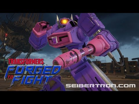 Transformers Forged to Fight SHOCKWAVE Exclusive Video