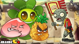 Plants Vs Zombies All Stars: Kung Fu World Day 7-10  (China Version)