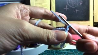 鉤冷基本教學--輪狀起針
