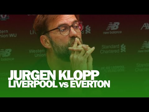 I Didn't Run Through My Living Room Celebrating | Jurgen Klopp on Drawing Everton In FA Cup
