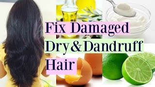 Deep Conditioning Hair Mask For Dry/Damaged/Dandruff Hair/Instant Solution