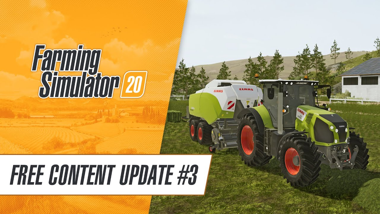 More CLAAS for Farming Simulator 20: Free Content Update #3!