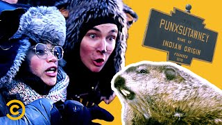 Tracking Down the Legendary Groundhog in Punxsutawney