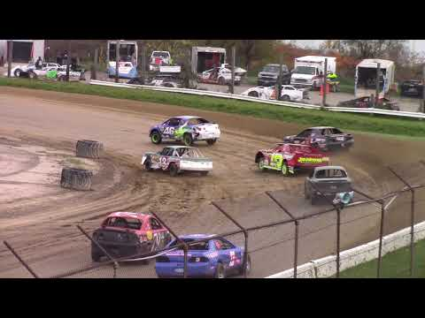 Genesee Speedway Mini Stock Heats 10-26-19