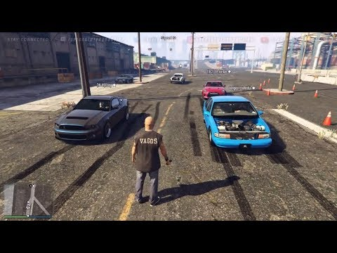 gta 5 fivem street car meet up illegal street racing w. Black Bedroom Furniture Sets. Home Design Ideas