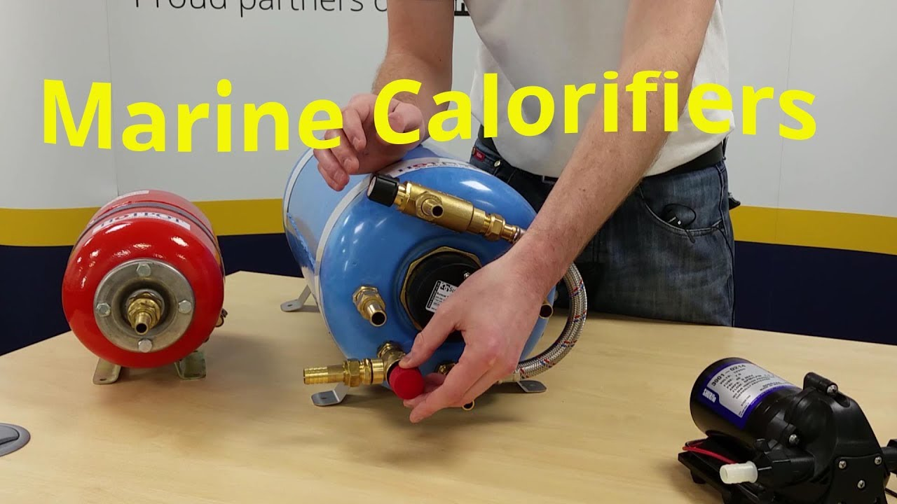 hight resolution of how calorifiers can provide free hot water for your boat