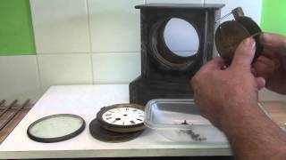 French Slate 8 Day Mantle Clock - Part One