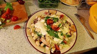 Салат «Цезарь» с курицей в домашних условиях - простой рецепт
