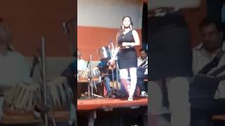 Sandha belay tumi ami song by ANUSREE ACHARJEE