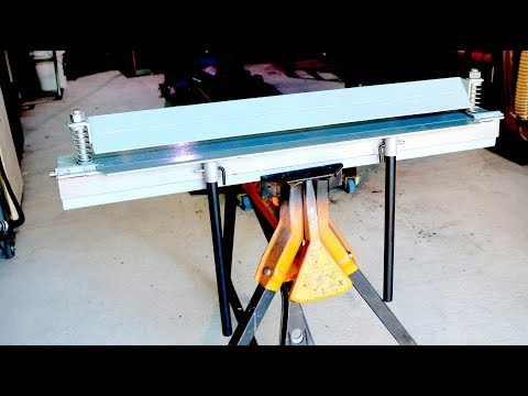 DIY Sheet Metal Folder - Forme Industrious