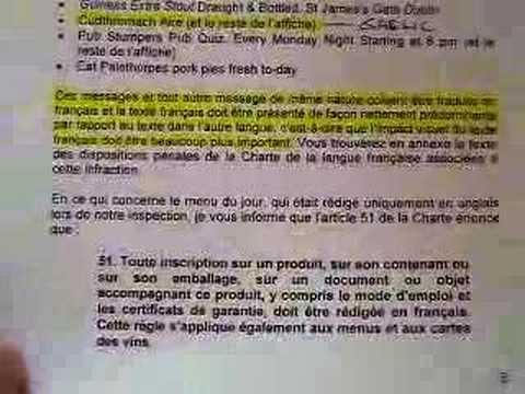 Office Quebecois De La Langue Francais / OLF