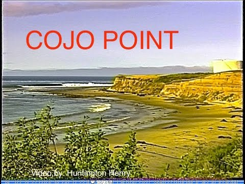 """Cojo Point The Ranch"" 4-7 foot wave faces, California - surfing"