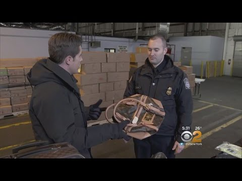 NJ Warehouse Filled With Counterfeit Goods