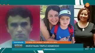 Conmoción por un triple crimen en Guaymallén
