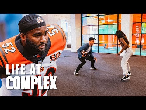 We Have A New NFL Intern! | #LIFEATCOMPLEX