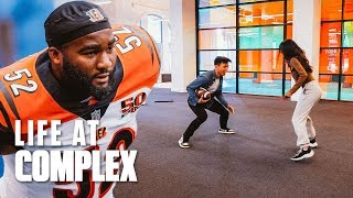 We Have A New NFL Intern!   #LIFEATCOMPLEX
