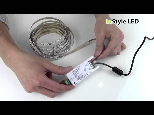 LED strip light Wireless Wall Dimmer