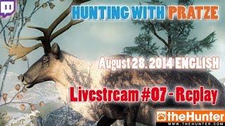 Livestream Replay REINDEER epic first hunt - 14 kills - The Hunter 2014 - 08/28/2014 - ENG