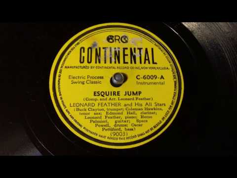 Leonard Feather - Esquire Jump Part 1 - 78 rpm - Continental C6009