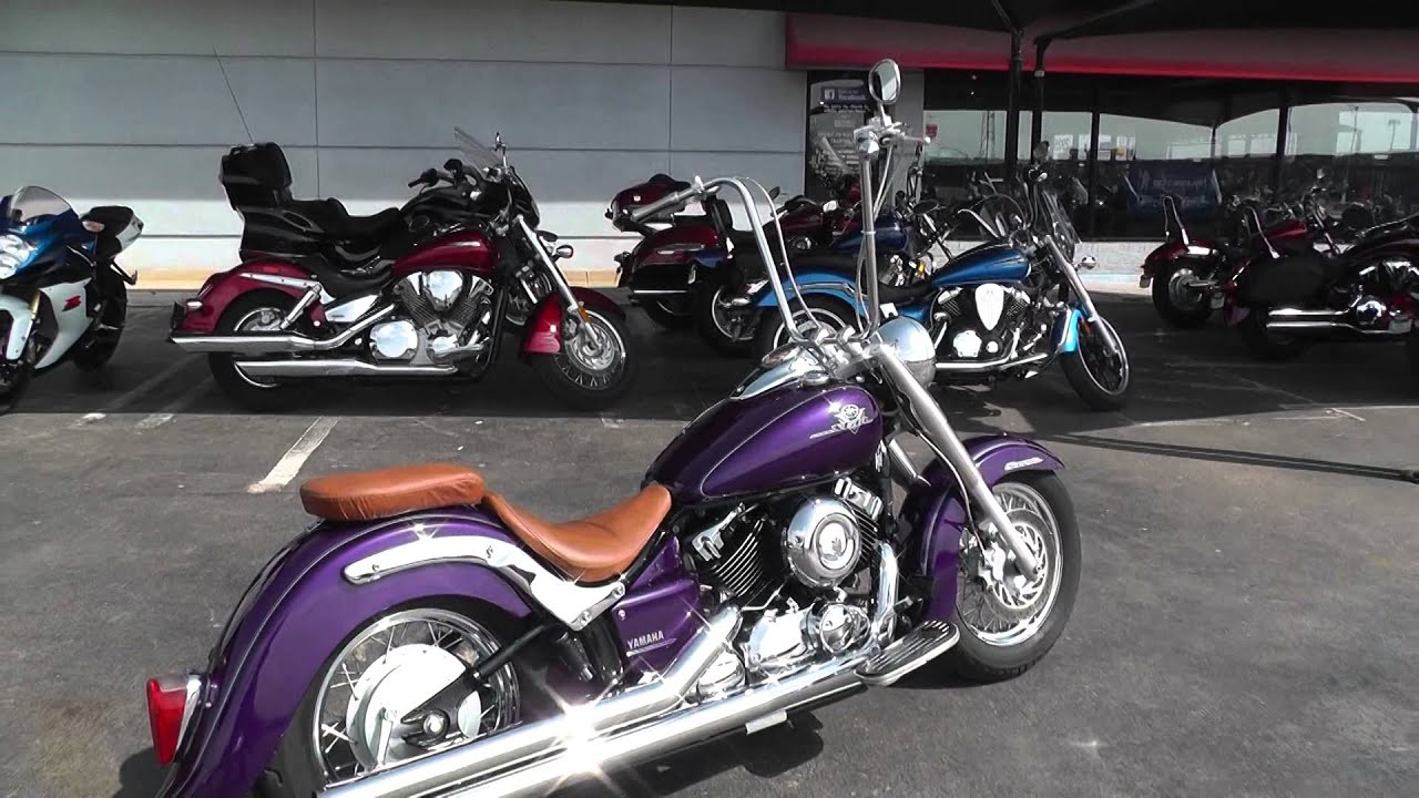 058801 2003 yamaha v star 650 used motorcycle for sale youtube. Black Bedroom Furniture Sets. Home Design Ideas
