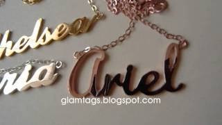 GLAMTAGS- 3 COLORS!